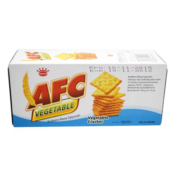 AFC vegetable 100g