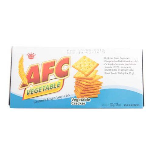 AFC vegetable crackers 200 gr