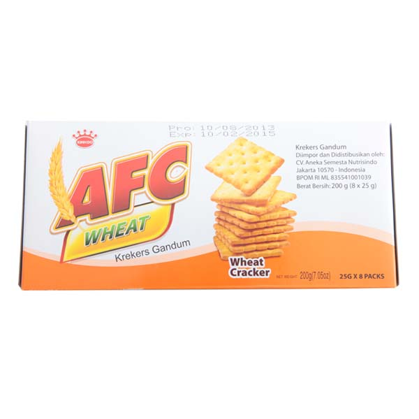 AFC wheat crackers 200 gr