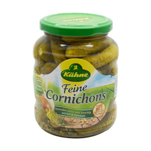 Kühne Feine Cornichons 370 ml
