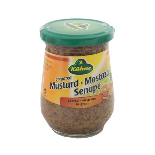 Kühne Mustard Coarse/Whole Grain Mustard 250 ml