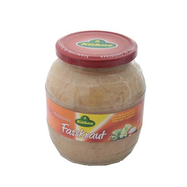 Kühne Barrel Sauerkraut 850 ml