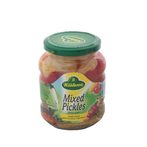 Kühne Mixed Pickles 370 ml