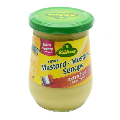 Kühne Mustard Extra Hot 250 ml