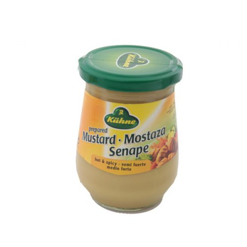 Kühne Medium Hot Mustard 250 ml