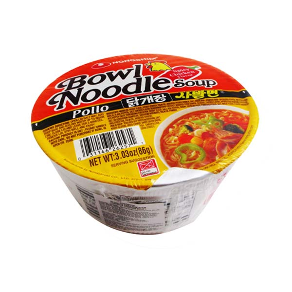 Nongshim – bowl noodle chicken