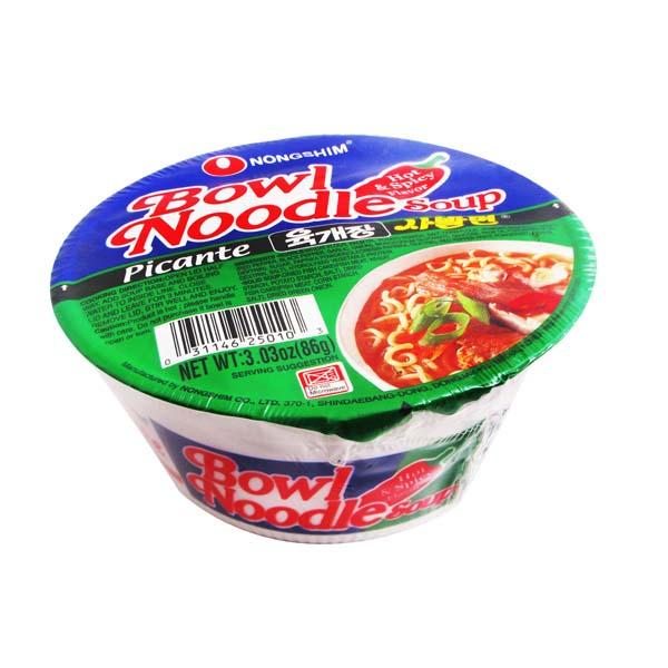 Bowl Noodle Hot 86g