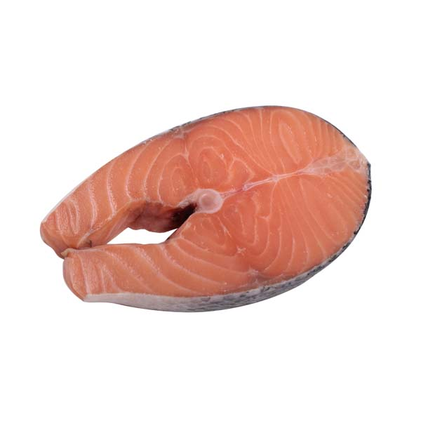 Salmon Steak Bone In