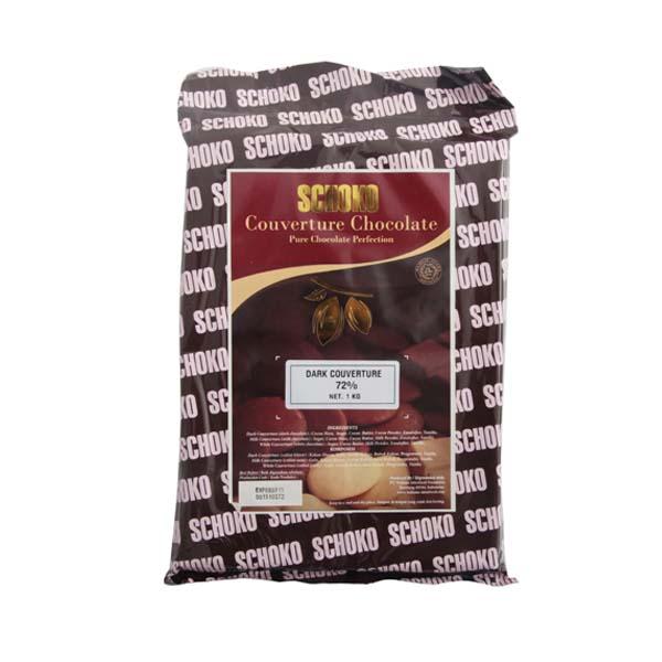 Schoko Dark Chocolate Couverture 72%