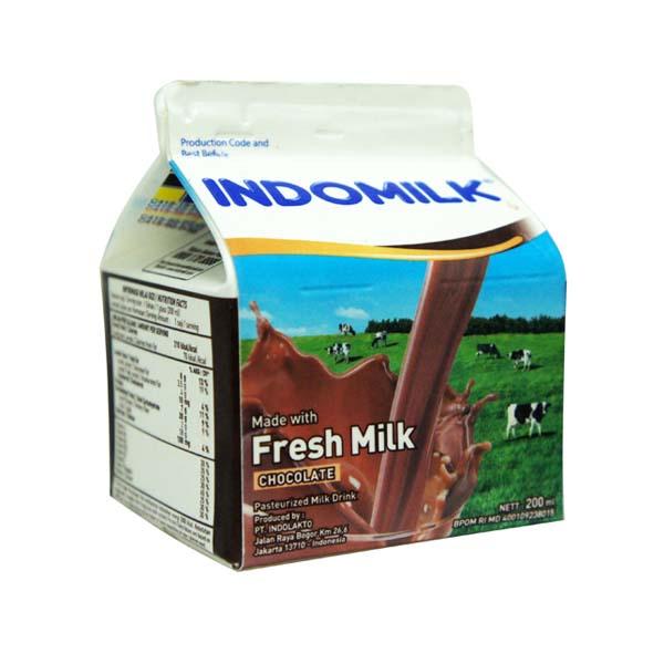 PLM Indomilk Chocolate 200 ml