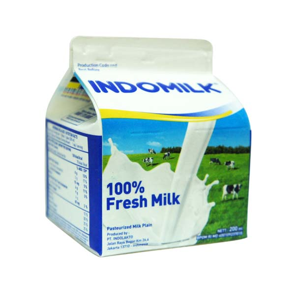 PLM Indomilk Plain 200 ml
