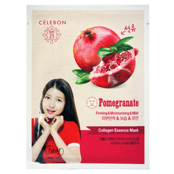 Collagen Essence Mask Pomegranate