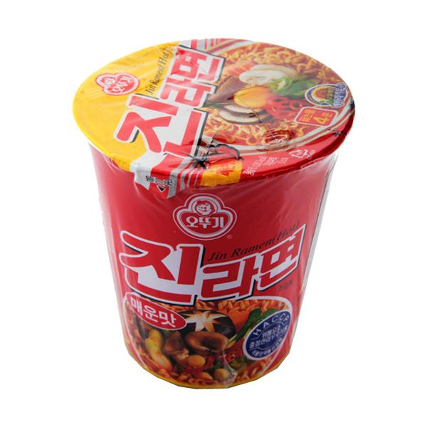 ottogi – jin ramen hot cup 65 gr
