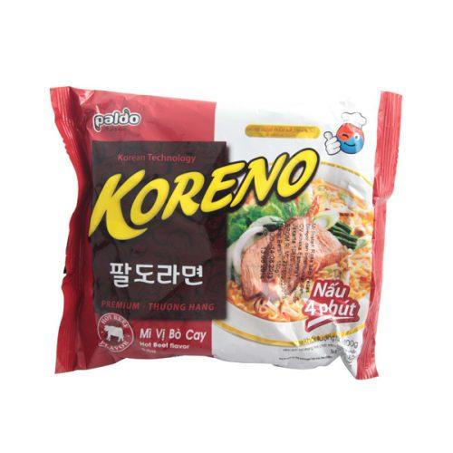 PALDO Koreno Hot Beef Flavor Noodle