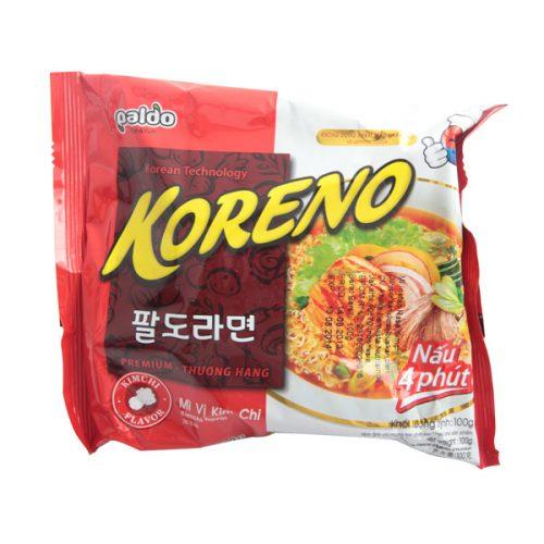PALDO Koreno Kimchi Flavor Noodle