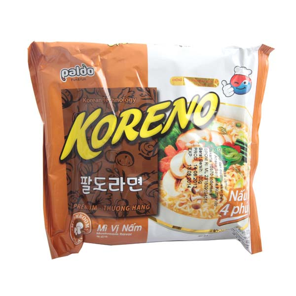 PALDO Koreno Mushroom Flavor Noodle