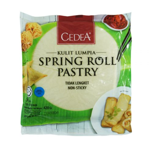 "Spring Roll Pastry 6""x6"" (50 pcs)"
