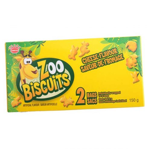 zoo biscuit - cheese