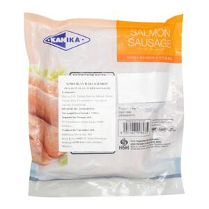 kanika salmon sausages