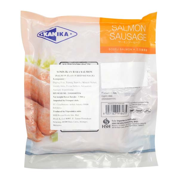 kanika salmon sausages