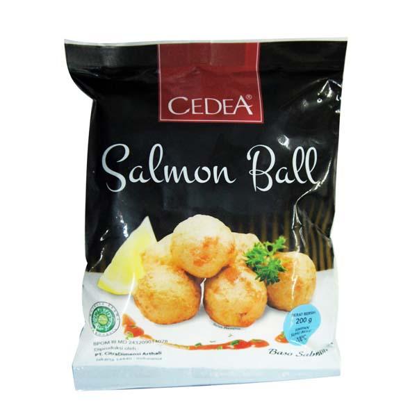 salmon-ball