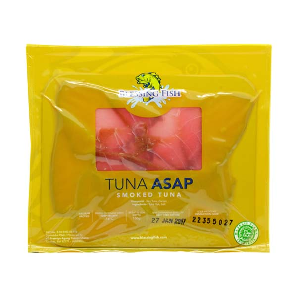 Smoked Tuna Sliced 100g