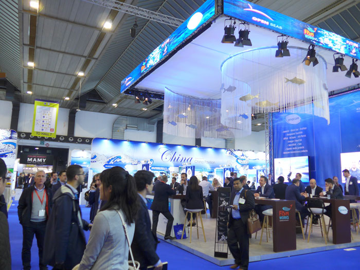 Inside the Brussels Seafood Expo