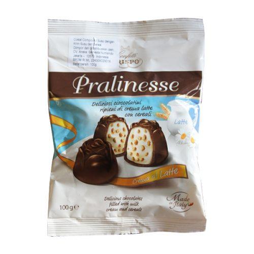 pralinese milk