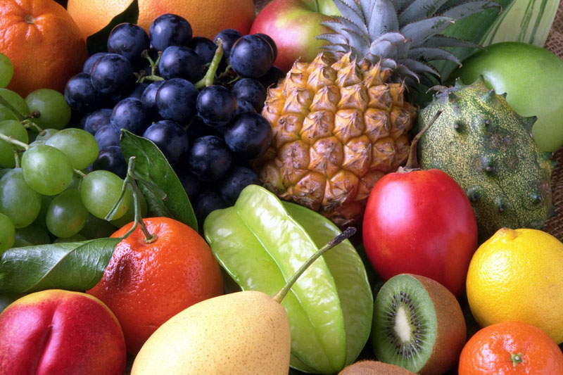 menyimpanan makanan beku - buah