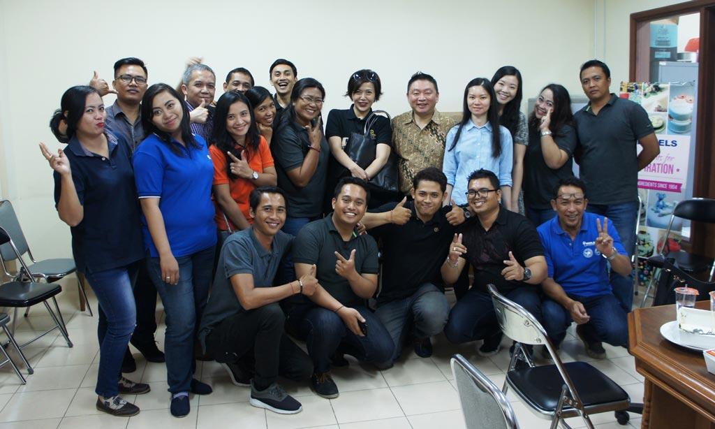 Cooking Demo with Puri Pangan Utama team Mastering Chinese cuisine