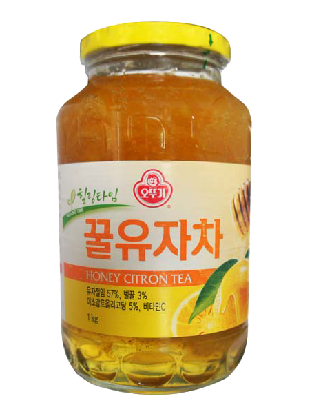 Korean Citron tea - honey citron tea