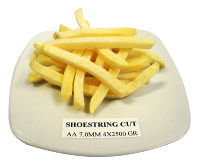 shoestring cut fries - food distributor bali