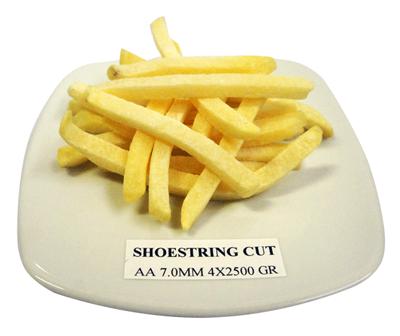 shoestring cut fries - food distributor bali