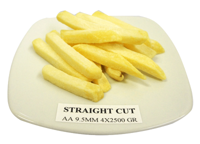straight cut fries - food supplier Bali
