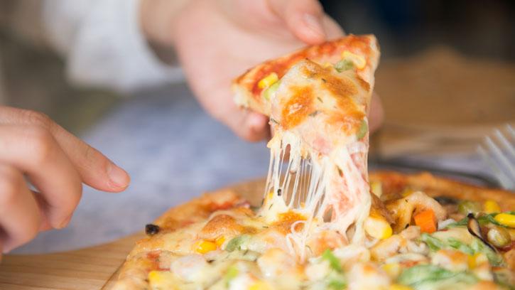 Pizza Keju Mozzarella