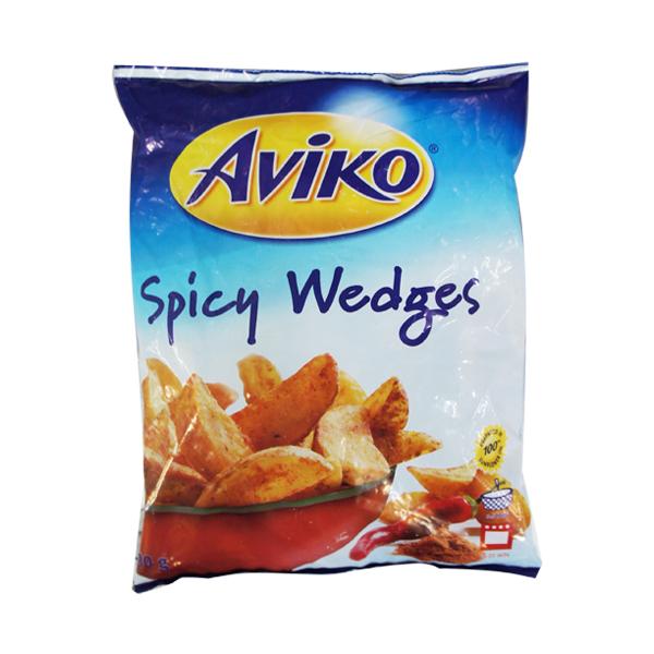 aviko spicy wedges