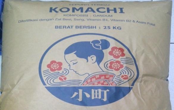 Komachi wheat flour - Tepung terigu komachi tepung Jepang