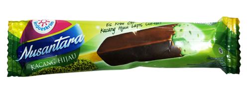 ice cream indoeskrim kacang ijo