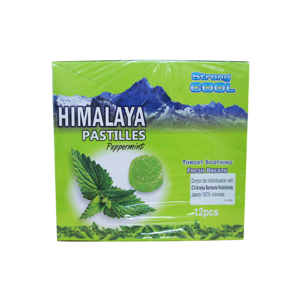 himalaya pastilles candy peppermint