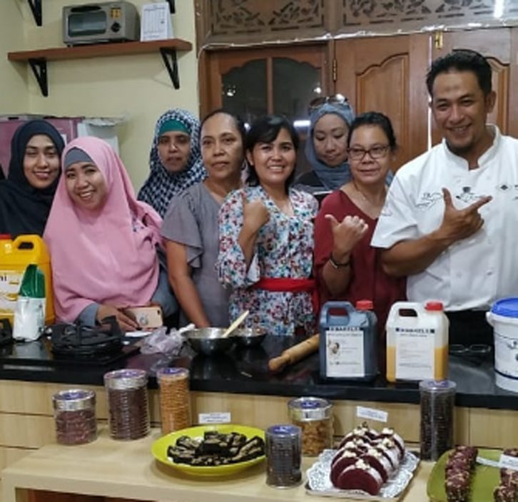 bakels cookies and cakes puri pangan utama cooking demo