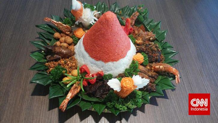 Tradisi Kuliner Khas Hari Kemerdekaan 17 Agustus Nasi Tumpeng Merah Putih