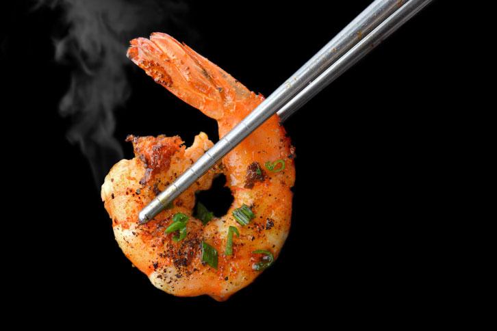 Consuming Shrimp