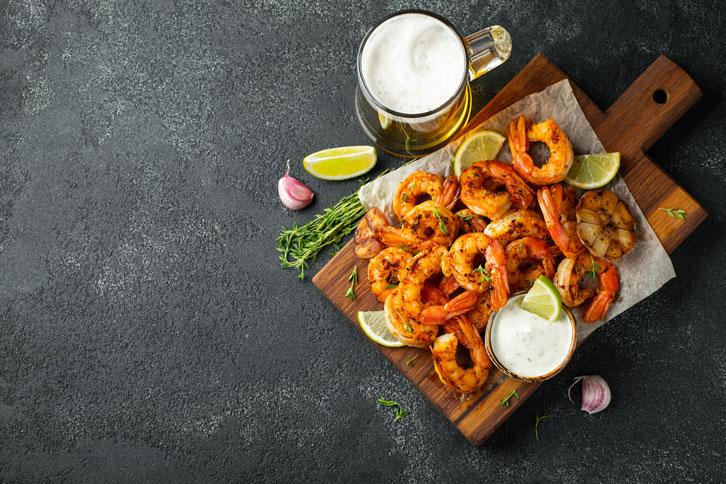 Shrimp Food