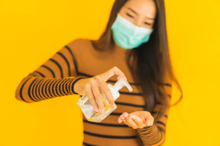 Cara menggunakan Hand Sanitizer