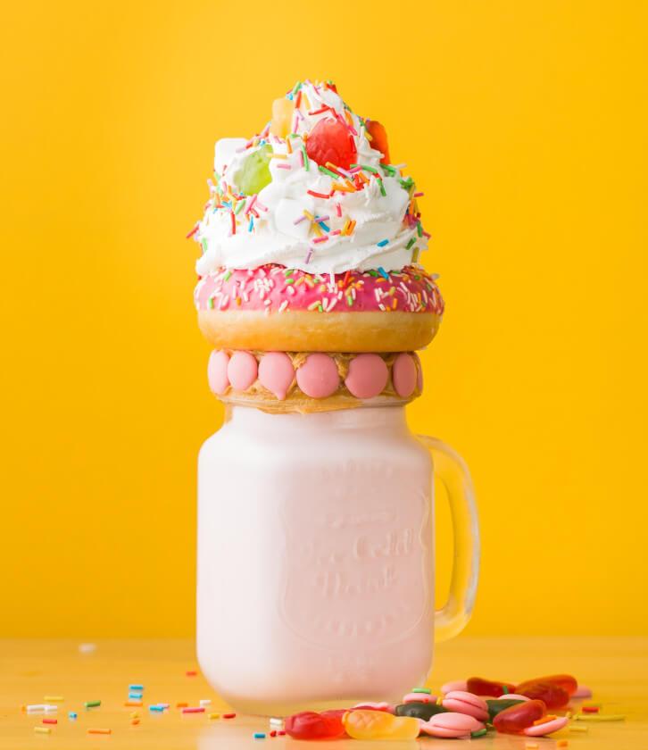 Crunchy Vanilla Shake