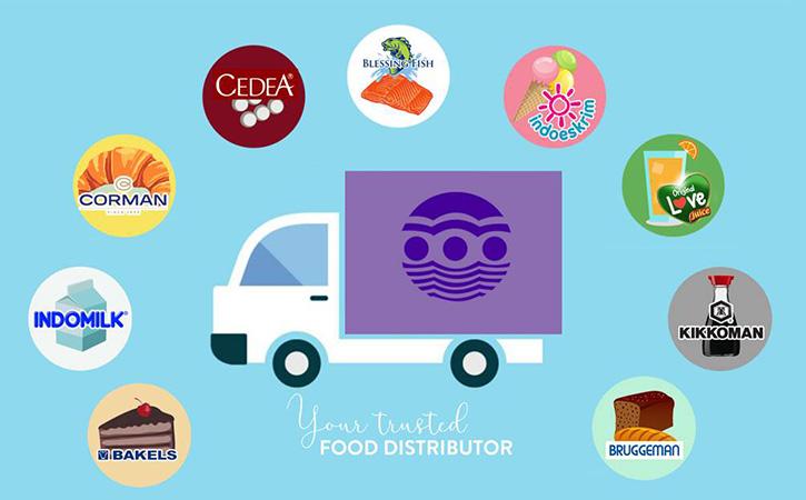 Kami adalah supplier merek bahan pangan lokal dan internasional seperti Bruggeman, Kikkoman, Indomilk dan Bakels.