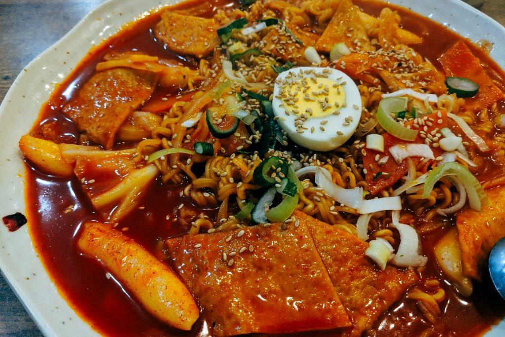 topokki makanan korea